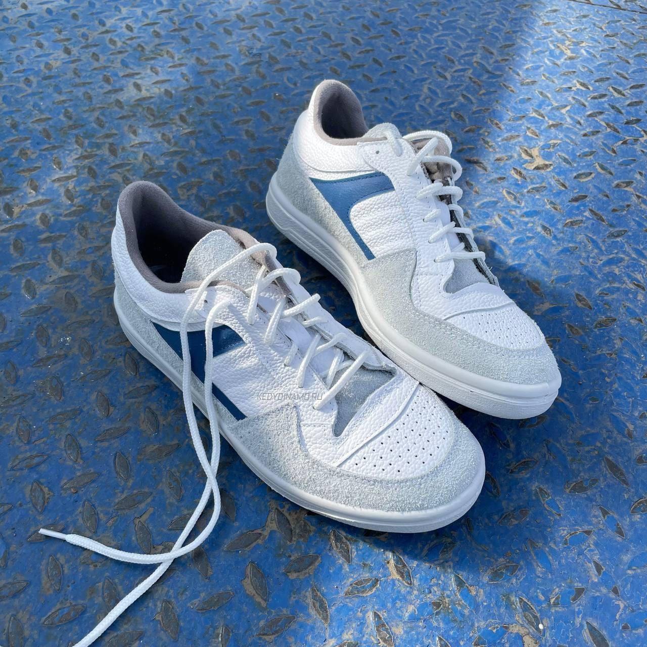 Кроссовки Динамо ГУС-2 высокие. высокие кожаные кроссовки. Купить белые  кроссовки Динамо 7cba047e312