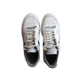 Белые кожаные кроссовки Динамо