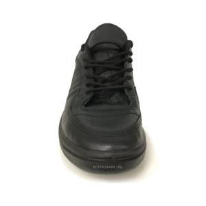 Кроссовки черные из кожи Гус-1К Динамо