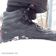 Зимние ботинки из кожи спб