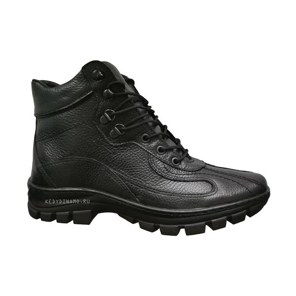 Купить мужские зимние кожаные ботинки Динамо