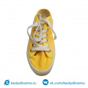 Кеды модные желтые