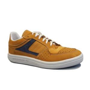 Кроссовки желто-синие