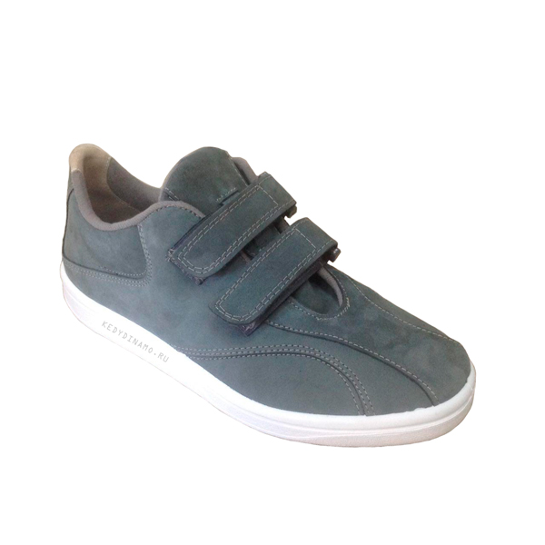 Серо-голубые кроссовки