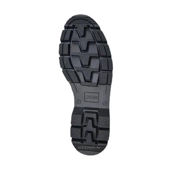 Недорогие зимние кожаные ботинки