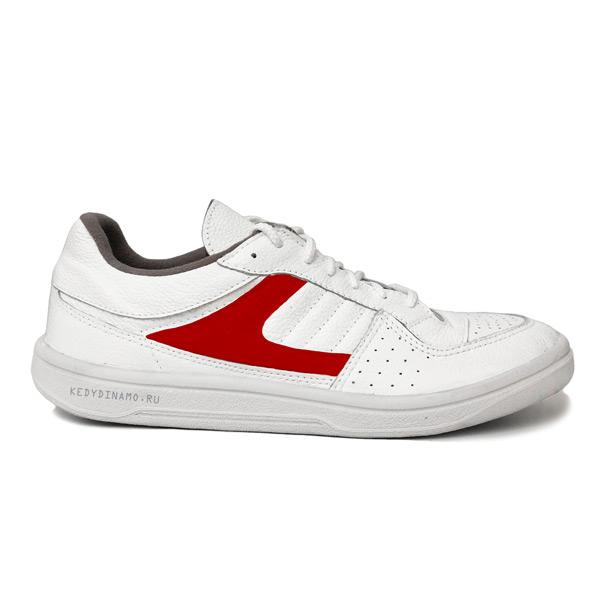 Бело-красные кроссовки