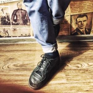 Черные кроссовки СССР