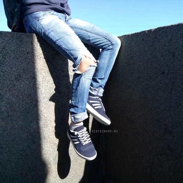 купить синие кроссовки
