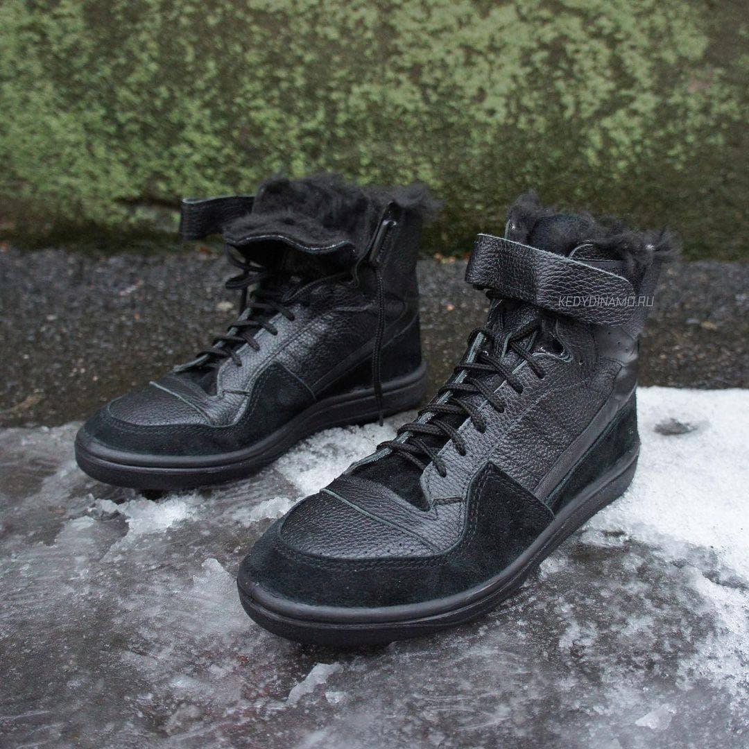 купить черные зимние кроссовки