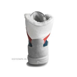 Купить высокие кожаные зимние кроссовки