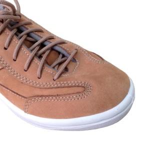 Кожаные коричневые кроссовки из нубука