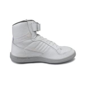Купить белые высокие кроссовки