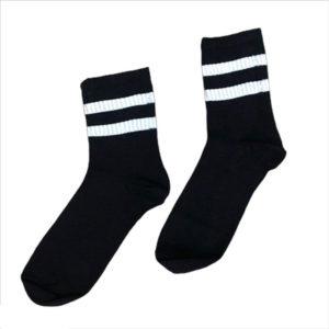Черно-белые носки