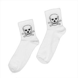 Носки с черепом