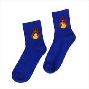 Носки с огнем