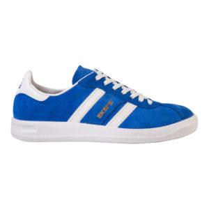 Голубые кроссовки эксис